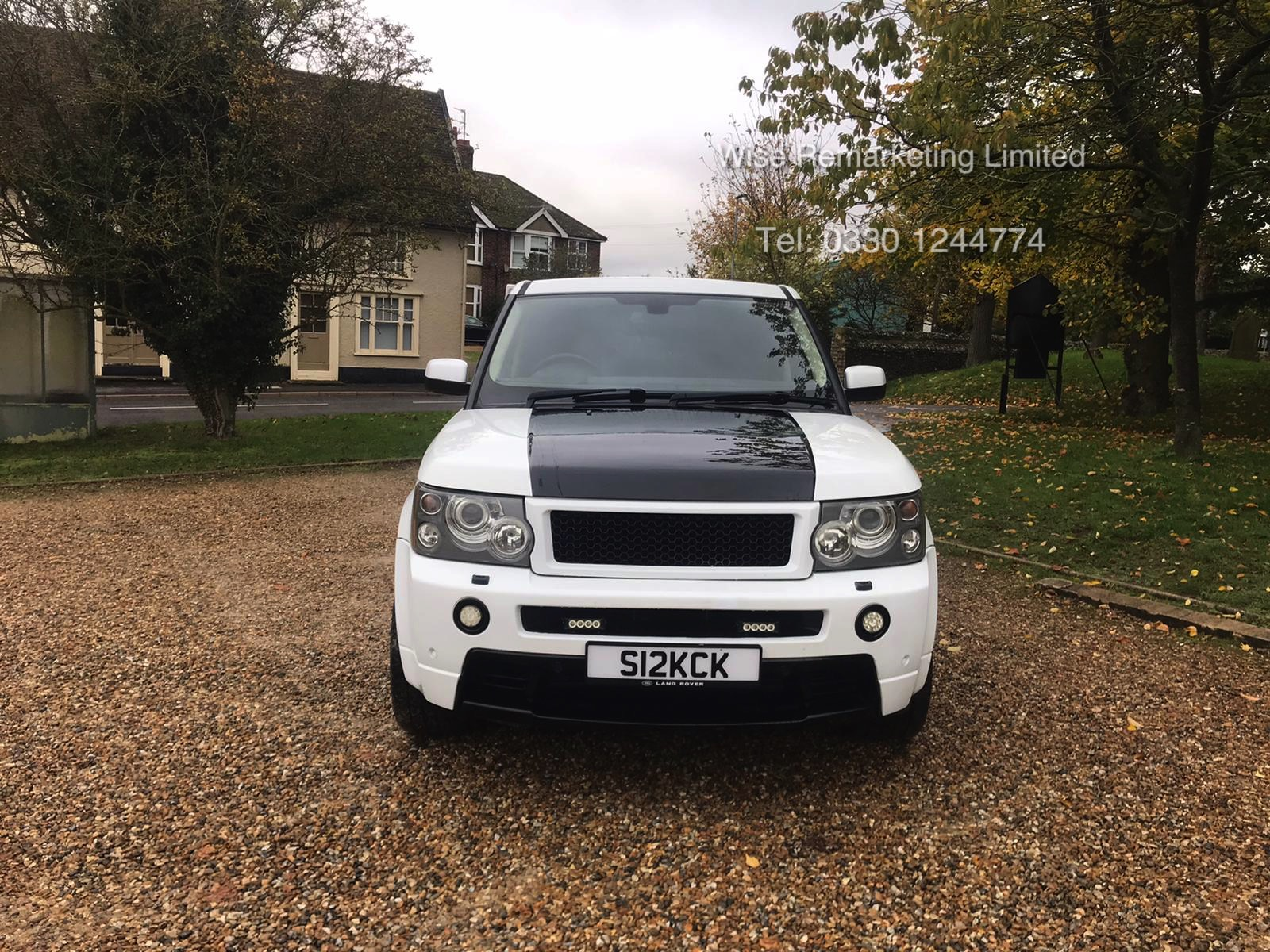 Lot 5 - Range Rover Sport 2.7 TDV6 HSE Auto (2007) *OVERFINCH* (RARE) Full Leather - Sat Nav - Massive Spec