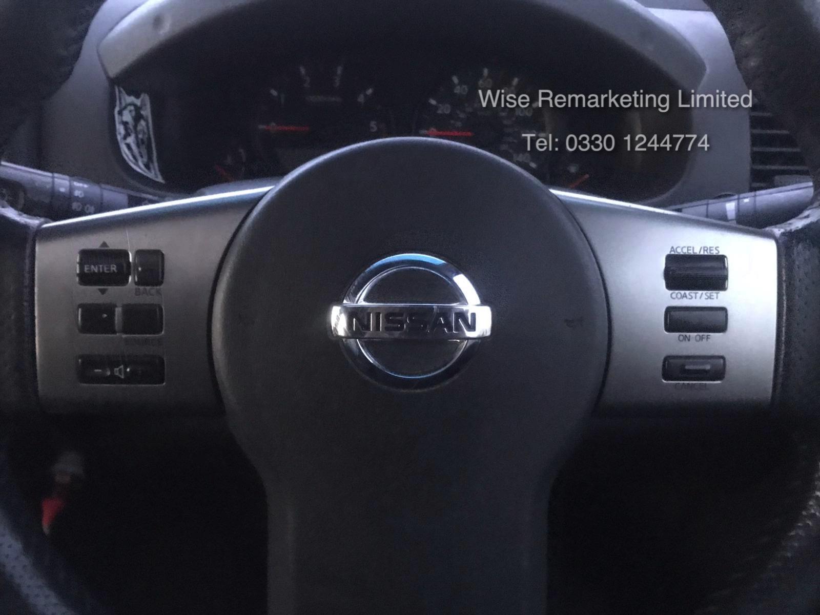 Lot 19 - Nissan Navara Aventura Double Cab 2.5DCI - Auto - 2007 07 Reg - Full Leather - Sun roof - 4x4