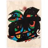 Joàn Miró Barcelona 1893 - 1983 Palma de Mallorca Inauguracio Fundació Joan Miró Farblithografie auf