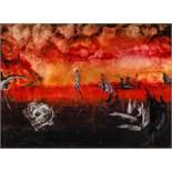 Soshana Wien 1927 - 2015 Wien Ohne Titel / untitled Öl auf Leinwand / oil on canvas 54 x 73 cm