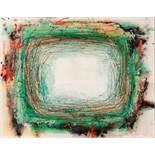 Drago J. Prelog Cilli 1939 * Geheimnisvolles Licht Acryl auf Leinwand / acrylic on canvas 55 x 70 cm