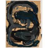 Erwin Wurm Bruck / Mur 1954 * Ohne Titel / untitled Mischtechnik auf Zeitungspapier / mixed media on