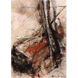 Heinz Göbel Salzburg 1947 - 2013 Frankenburg Ohne Titel / untitled Öl auf Leinwand / oil on canvas