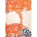 Adolf Frohner (hs art) Groß-Inzersdorf 1934 - 2007 Wien Salome beim Fortgehen Öl auf Papier auf