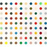 Damien Hirst Bristol 1965 * Painting by Numbers I Emailfarbe auf grundierter Leinwand / enamel on