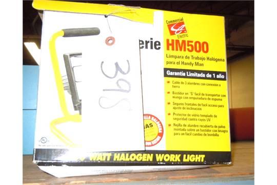 1 new commercial electric 500 watt halogen work light hm500 1 new commercial electric 500 watt halogen work light hm500 aloadofball Images