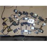 LOT - ASSORTMENT OF 110V SOLENOID VALVES (USED, WORKING CONDITION)
