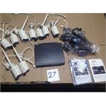 LOT - ISOTECT 9-CAMERA SECURITY SYSTEM (NEW, OPEN BOX)