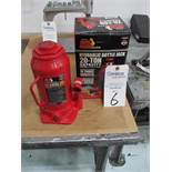 Big Red 20-Ton Hydraulic Bottle Jack