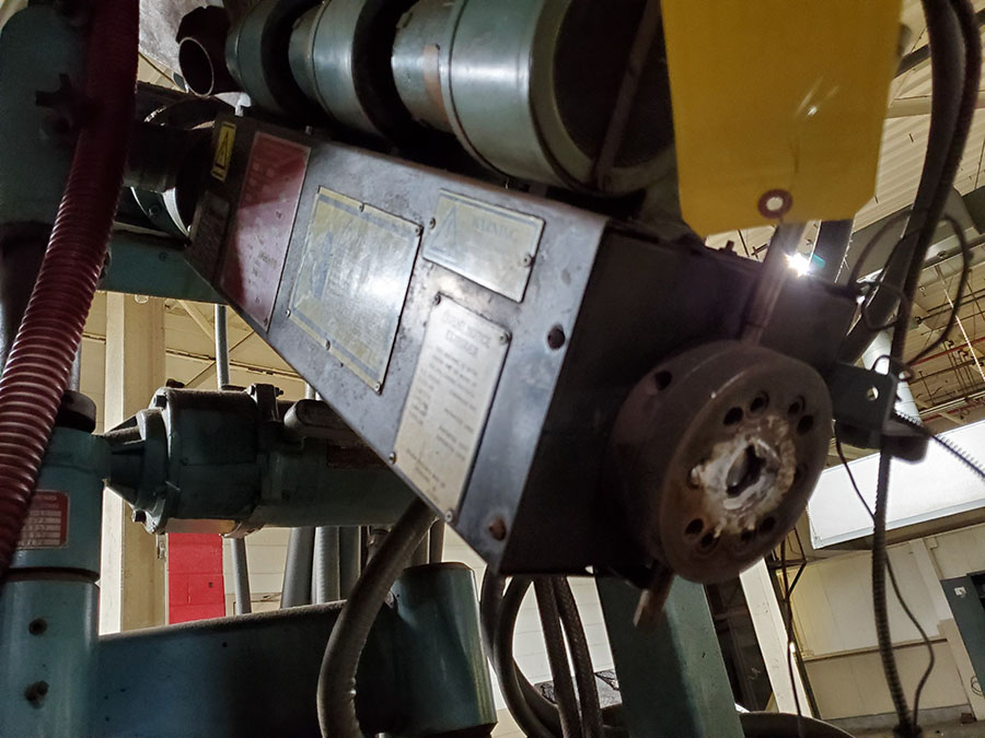 DAVIS STANDARD THERMATIC PLASTIC CO-EXTRUDER; MODEL D8-10, S/N 05770 - Image 2 of 7