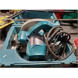 LOT OF MAKITA CIRCULAR SAW; MODEL 5007F & PORTER CABLE CIRCULAR SAW