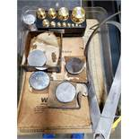 LOT OF ROCKWELL HARDNESS TESTERS & SET OF WEIGHTS