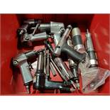 LOT OF ASSORTED INGERSOLL RAND & CENTRAL PNEUMATIC TOOLS