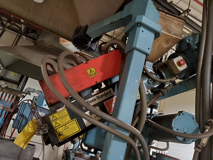 DAVIS STANDARD THERMATIC PLASTIC CO-EXTRUDER; MODEL D8-10, S/N 05770 - Image 5 of 7