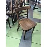 (10) Chaises Bistro