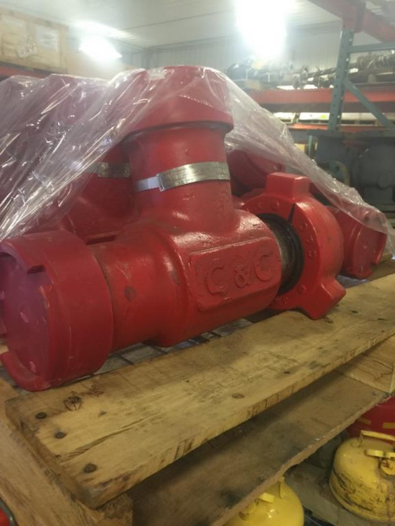 """Lot 254 - 3"""" Gas Lift Manifolds. Lot: Qty (8) 3"""" Gas Lift Manifolds. EOG Stock #662330. Asset Located in"""
