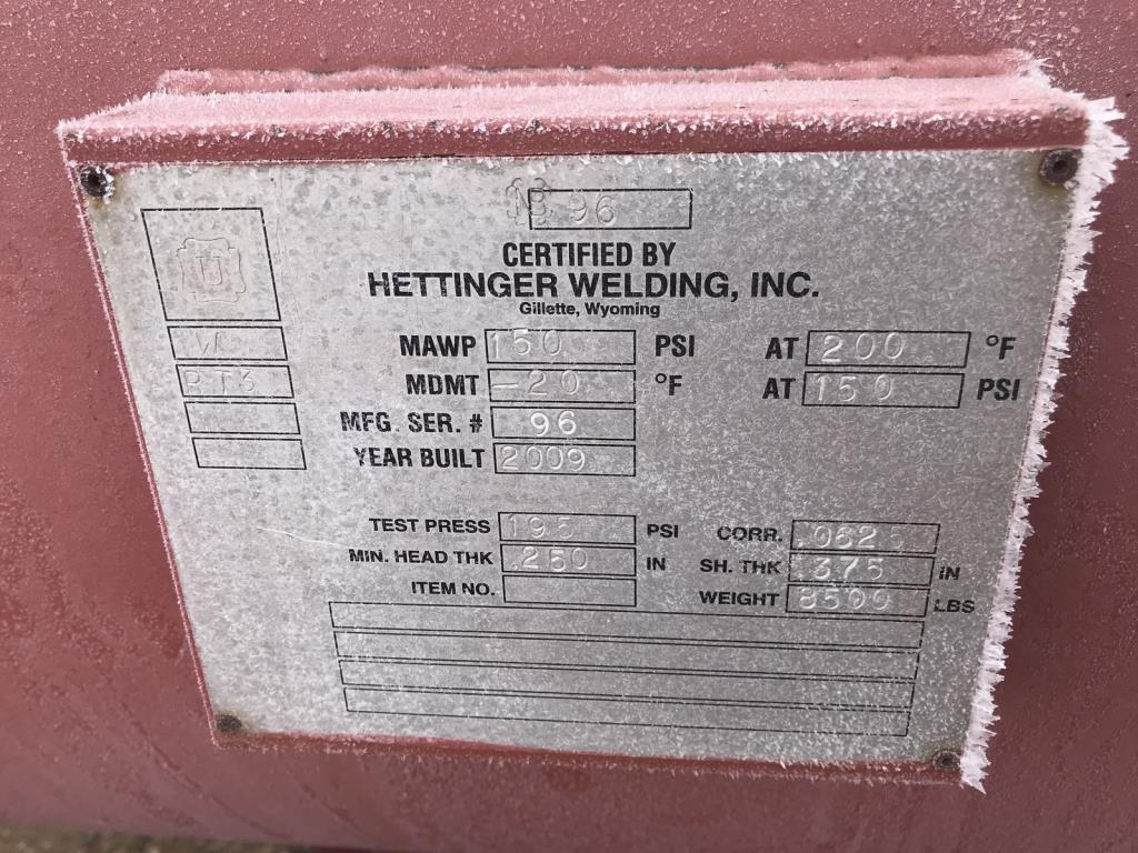 Lot 82 - Hettinger Welding Separators. Lot: Qty (2) Hettinger Welding Separators. Asset Located in