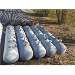"Blow Cases. Lot: Qty (5) Valerus 1440# 24"" x 10' Blow Cases. Asset Located in Stanley, ND 58784."