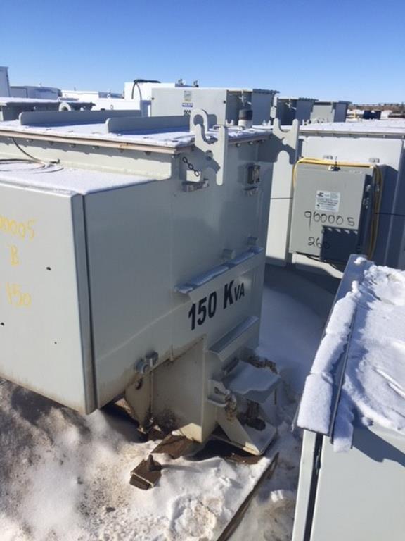 Lot 2 - Summit 150 KVA Summit Transformer. 150 KVA Summit Transformer. EOG Stock #900005. Asset Located in