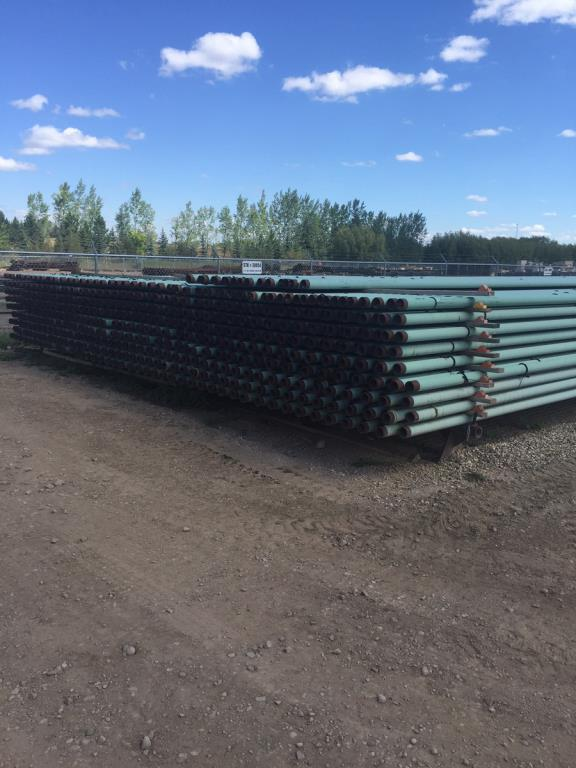 """Lot 306 - 3 1/2"""" Pipes. Lot: Qty (334) 3 1/2"""" .216W 7.58# DRL FBE PEB, 14,033.67 Footage. EOG Stock #30854."""