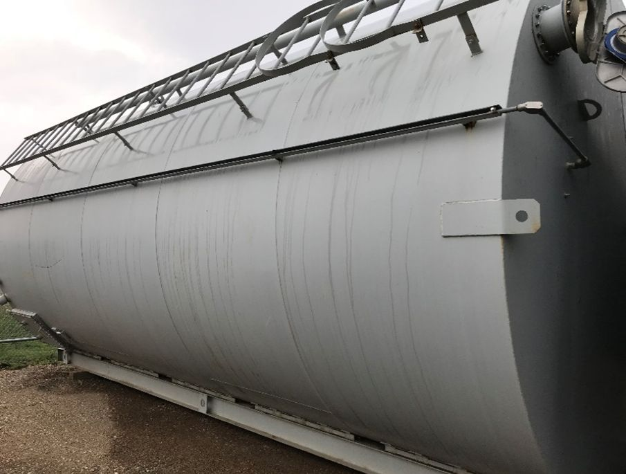 Lot 65 - True North Steel 500 BBL Skid Mounted Tanks. Lot: (2) Skid Mounted Tanks. Asset Located in Parshall,