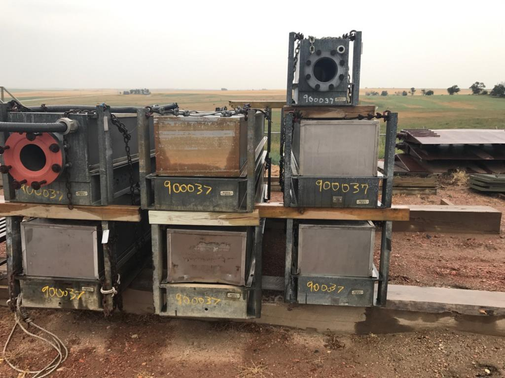 Lot 49 - Submersible Pumps. Lot: Qty (7) Submersible Pumps. EOG Stock #900037. Asset Located in Parshall, ND