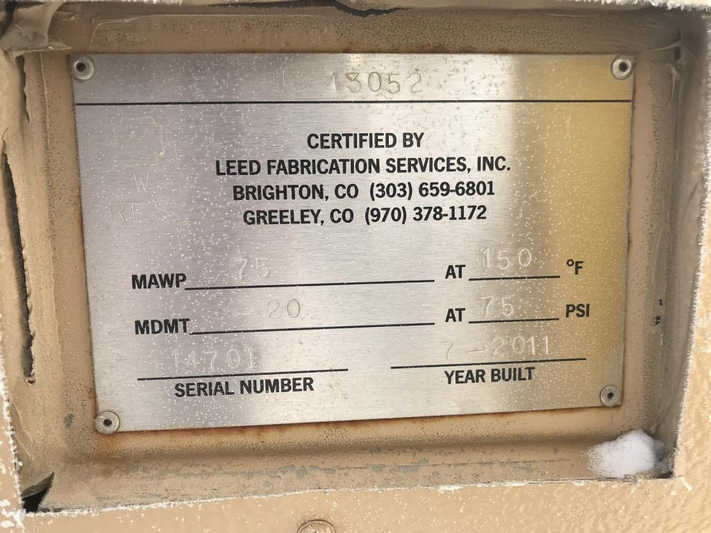 Lot 27 - 75PSI LEED Knockout Pots. Lot: Qty (7) 75PSI LEED Knockout Pots. EOG Stock #661398. Asset Located