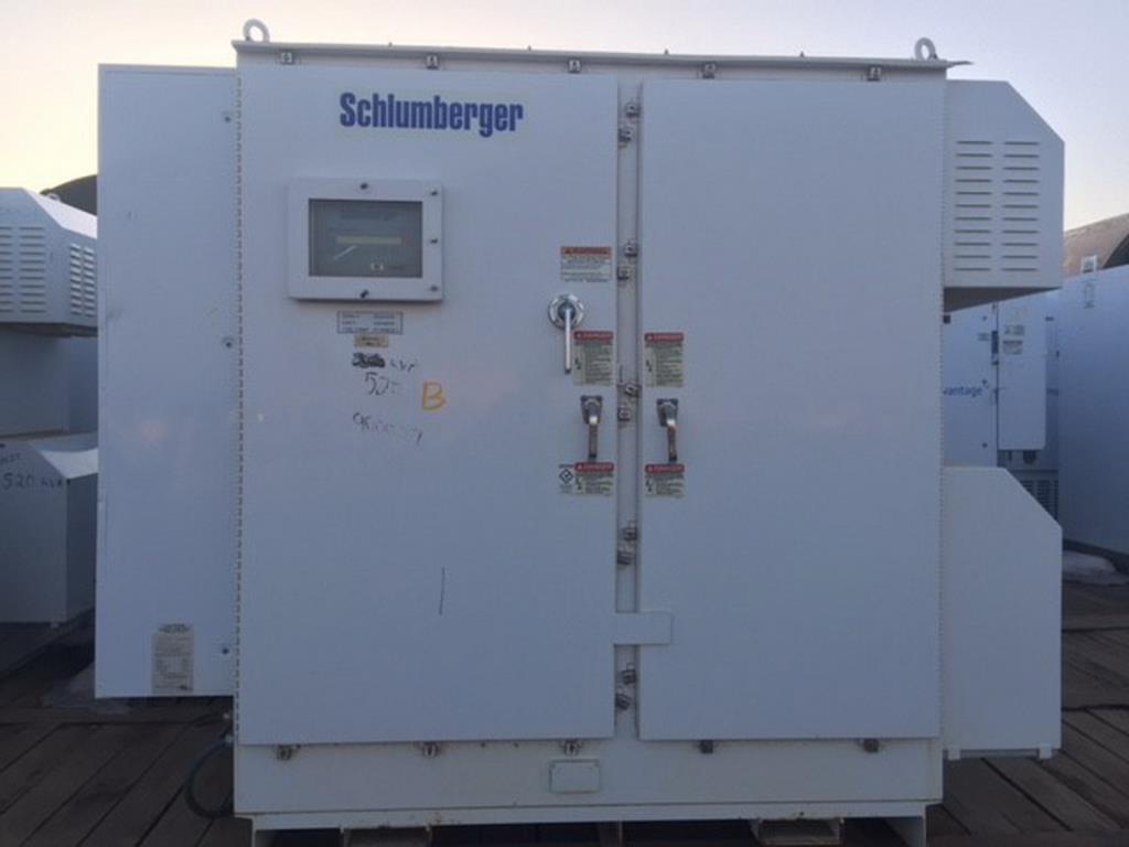 Lot 12 - Schlumberger 520 KVA Variable Speed Drives (VSD)