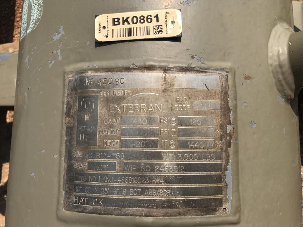 Lot 36 - Exterran Contact Towers. Lot: Qty (2) Exterran Contact Towers. EOG Stock #970034. Asset Located in