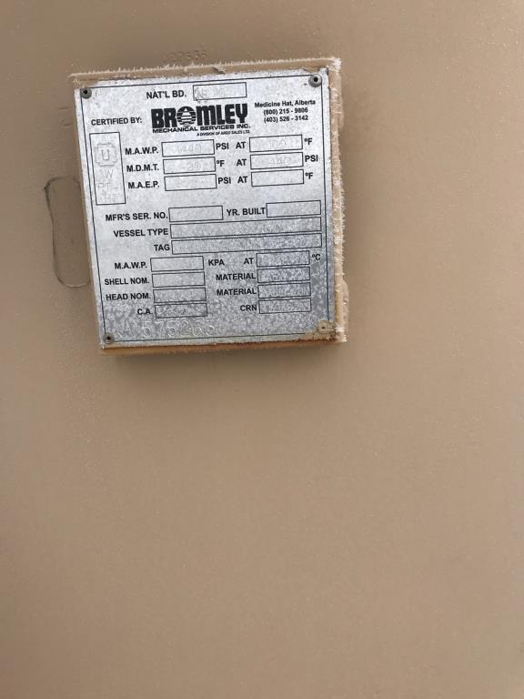 Lot 28 - Ultra Fab H2S Sweetening Skids. Lot: Qty (6) Ultra Fab H2S Sweetening Skids. EOG Stock #661400.