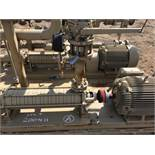 Electric Pump Building. 8 Stage Electric Pump Building. EOG Stock #200460. Asset Located in