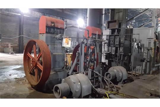 Worthington Pump Machine Company vertical pump system with