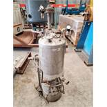 Alloy Products Pressure Vessel, 316 stainless steel construction, 11 Gallon Approx.