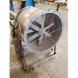 """24"""" Fan, .75 hp, Model 074D024RP, carbon steel construction, 115/230 volts, serial# 805534-30, built"""