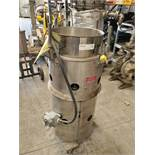 "15"" Vorti-Sieve, Model RB-F15, stainless steel construction, single deck, 120 volts, on wheels,"