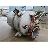 550 USG (approx) Central Fabricators Inc Stainless Steel Tank, National Board number 1160