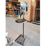 Craftsman Drill Press, Model 113.24611, manual lowering, with depth scale, 115 volts, serial# 2976.