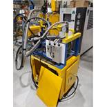 Flynn Surface Flame Treatment System, Model# FTI-VFC200-6AL-9, with blower, for use with propane,