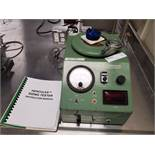 Hercules Sizing Tester, Model KC, 115 volts, for ink and oil paper penetration testing, with manual,