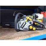 4090 Titan petrol powered chainsaw