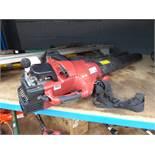 MTD petrol powered leaf blower