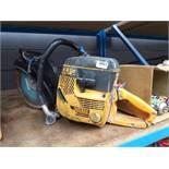 Partner K650 petrol powered disc cutter