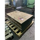 """Spare 5,000 Lb. Die Forger Sow Block, 36"""" x 25"""""""