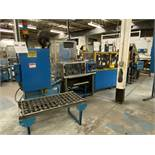 COX Systems Stamp and Assembly Line, Hendricks Engineering FT/30 Centrifugal Feeder, (3) Hot Stamp
