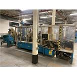 COX Systems Stamp and Assembly Line, HendricksEngineering FT/30 Centrifugal Feeder, (3) Hot Stamp