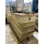 Hardwood Line Mfg De-Ionized Water Scrubber Tank, s/n 58866, 10 HP Motor, Approx. 500 GAL Tank,