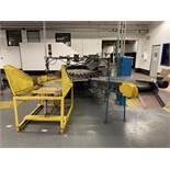 BLASDEL ENTERPRISES Dial Temp Paint Machine Line,36-Positions, Conveyor, Dayton DC Speed