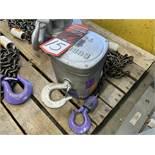 BUDGIT 1-Ton Chain Hoist, s/n 5050-4