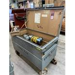 KWIK-WAY FWII Cylinder Boring Machine, s/n FL2152, w/ Gang box