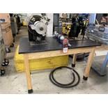 TRI TOOL Portable Pipe Bevel Machine, s/n 794107, w/ Tri Tool Air Caddy